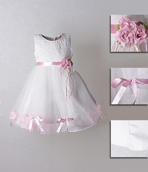 Красивый пояс на детское платье своими руками 30
