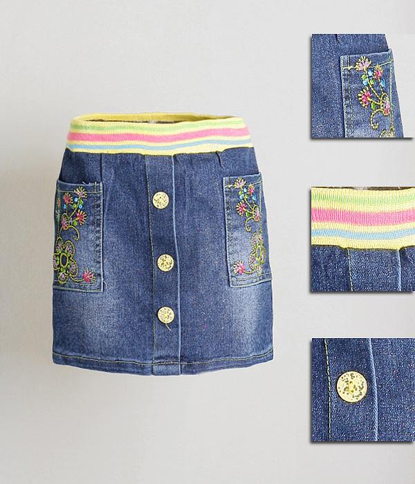 Как сшить девочке юбку из старых джинсов своими руками выкройки 1